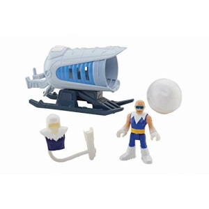 Fisher-Price Imaginext DC Super Friends Captain Cold and Ice Cannon Action Figure