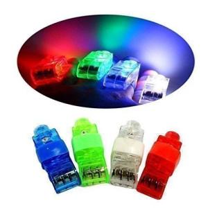 CALIFORNIA CADE ELECTRONIC Cade Super Bright Finger Flashlights - LED Finger Lamps - Rave Finger Lights, Pack of 40