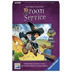 Ravensburger Broom Service - Strategy Game