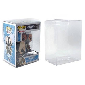 POP Protector Plastic Display Case for Funko Vinyl Figures (10 Pack) By Malko