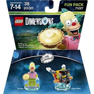 Warner Home Video - Games LEGO Dimensions, Simpsons Krusty Fun Pack