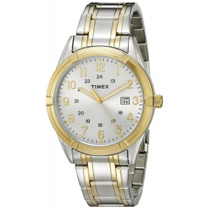 Timex Men's TW2P765009J City Collection Analog Display Quartz Two Tone Watch