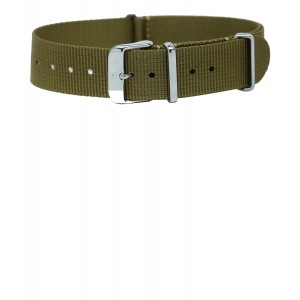 the Notches Co. 20mm Military Watch Band, NATO Watch Strap