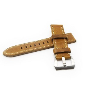 Ritche 20mm Watch Band Strap Italy Calf Leather Handmade Strap Fit for Samsung Gear S2 Classic