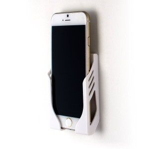 Dockem Damage-free Wall Mount for iPhone 6, 6 Plus, 6S, and 6S Plus with 3M Command Strip Adhesives; Koal