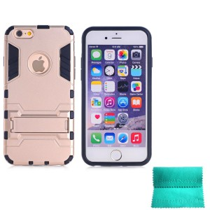 iPhone 5S Case,Moment Dextrad [Non-Slip][Shockproof]][Stand Feature]Dual Layer Armor Defender Shock Absorption protective for iPhone 5/5S (Gold)
