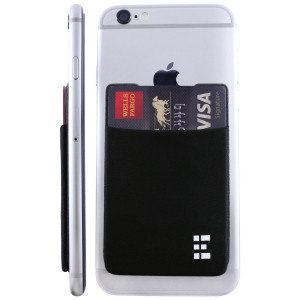 Zero Grid Cell Phone Credit Card Holder Stick On Wallet Case w/ RFID Blocking