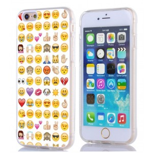 IWON Iphone 6S Case emoji, Apple Iphone 6 Case personalized unique emoji design