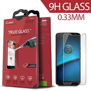 iCarez [Tempered Glass] Screen Protector for Moto Motorala Droid Maxx 2 Easy Install With Lifetime Replacement Warranty - Retail Packaging 2015