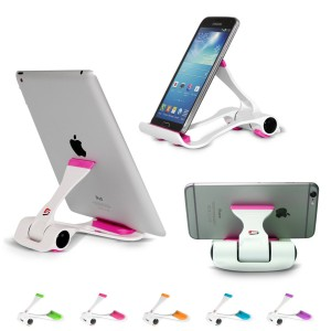 SIME-ON Tablet and Cell Phone Stand, Holder, Mount for Apple iPad, iPhone, Samsung Galaxy Tab, Kindle, Fit