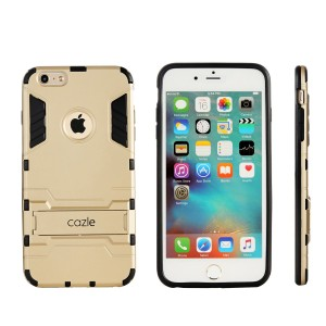 Cazle iPhone 6S Plus, iPhone 6 Plus, iRon Dual-layer Heavy Duty Matte Rugged Protective Cover with Built