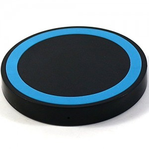 KevenAnna Wireless Charger , Qi Wireless Charging Pad for Samsung S6 / Edge / Plus, Note 5, Nexus, Nokia Lumia 920, LG G3, HTC 8X / Droid DNA and All Qi-Enabled Devices (Black)