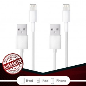 Fierce Cables 2PACK 10FT 8 pin USB Lightning Cables Charger Cord iPhone 6s Plus 6 Plus 6s 6 5s 5 iPad Air 2 iPad Mini [iOS 9 Compatible]