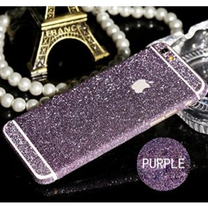 """Misxi Bling Sticker for Apple iPhone 6(6s)(4.7"""") Luxury Sparkle Full Body Decal Glitter Protector Films for iPhone 6(6s) Purple"""