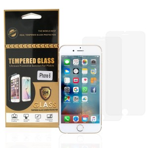 "1 Up Products iPhone 6 / 6S Screen Protector, 1Up Products 4.7"" Case Impact Premium Tempered Glass Screen Prote"
