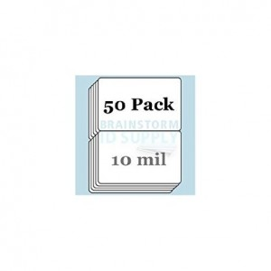 Brainstorm ID 10 Mil Butterfly Pouch Laminates - 50 Pack