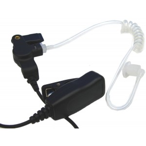 Pulsat Two-Wire Surveillance Earpiece Mic for Kenwood TK-208, TK-220, TK-240, TK-240D, TK-248, TK-250, TK