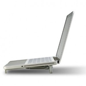 """Bosvision Ergonomic Aluminium Portable Foldable Cooling X-Stand for 12""""-17"""" Laptops, Notebook PC, MacBook"""