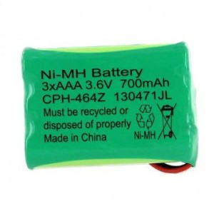 EMPIRE 1 X Ooma Telo Handset Cordless Phone Battery 3.6 Volt, Ni-MH 700 mAh - Replacement For OOMA HB1001
