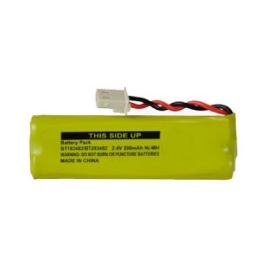 Dantona Vtech LS6475-3 Cordless Phone Battery Ni-MH, 2.4 Volt, 500 mAh - Ultra Hi-Capacity - Replacement f
