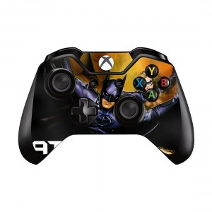 Mod Freakz Xbox One Controller Pair of Vinyl Decal Skins Hero With Girl