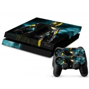 Mod Freakz PS4 Console and Controller Vinyl Skin Decal Metal Gold Hero