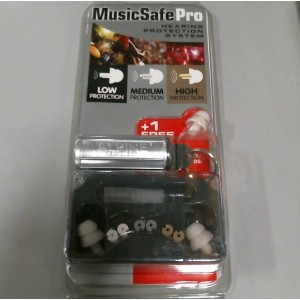 Alpine Hearing Protection Musicsafe PRO Earplugs for Musicians(cylindrical)