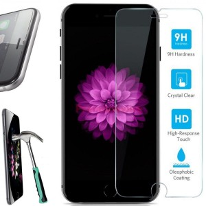 iPhone 6, iPhone 6S Screen protector tekSonic [iPhone 6 and iPhone 6S Tempered Glass] High Quality, Anti-Scratch, Bubble-free, Anti-Fingerprint Glass Screen Protector for Apple iPhone 6/6s 4.7 inch - Retail Package