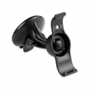EKIND Car Windscreen Windshield Suction Cup Mount Holder Cradle For GPS Garmin Nuvi 40 40LM (Compare to Garmin 010-11765-01) Black