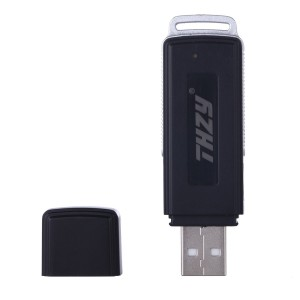Voice Recorder,THZY 8GB Digital Rechargeable USB Audio Voice Recorder Flash Drive Mini Hidden Pen Drive Disk (150 Hours)