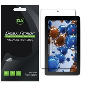 [3-Pack] Dmax Armor- RCA 10 Viking Pro Screen Protector Anti-Bubble High Definition Clear Shield - Lifetime Replacements Warranty- Retail Packaging