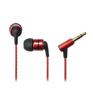 SoundMAGIC E80 Reference Series Flagship Noise Isolating In-Ear Headphones (Red)