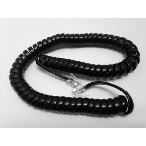 The VoIP Lounge Replacement 9 Ft Black Handset Cord for NEC DSX, DTH, DTP, DTU, DTL, DTR, ITR Series Phone
