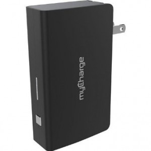 myCharge AmpProng Plus 6000mAh Portable Charger with Built-In Wall Prongs