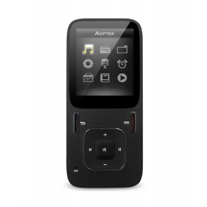 AGPtEK B03 Hi-Fi 8GB MP3 Music Player, Updated Version of A02 Mp3 Player, Supports up to 64GB Micr
