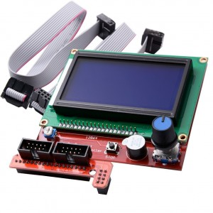 FORWORD LCD Display Smart Controller W/ Adapter For RAMPS1.4 Reprap 3D Printer