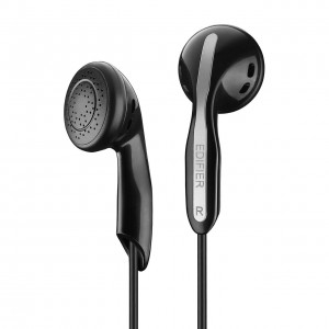 Edifier H180 Hi-Fi Stereo Earbuds Headphone For Music, Podcasts and Audiobooks - Black