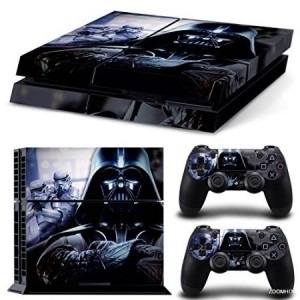 ZoomHit Ps4 Playstation 4 Console Skin Decal Sticker Star Wars Darth Vader Battlefront + 2 Controller Skin