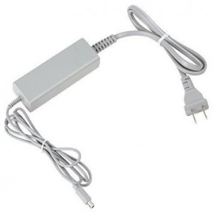 TekBotic Wii-U GamePad Controller AC Adapter Speed Charger Cord (For Nintendo Wii U)