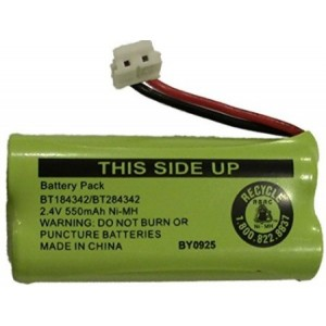 JustGreatDealz Battery BT184342 / BT284342 for Select Uniden D2200 D3200 DECT and DCX Series Cordless Telephones