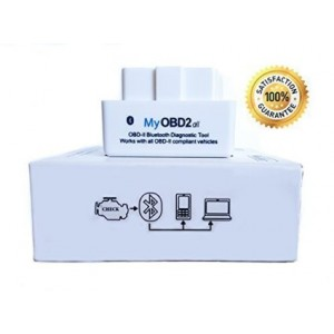 A-230 Inc. MyOBD2-All OBD2 Bluetooth Scanner Diagnostic Adapter for Android. Full 1 Year Warranty. Ultra Smal