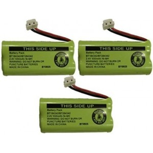 JustGreatDealz Replacement Battery BT184342 / BT284342 for ATandT CL8000, EL5000, SL8000, TL9000 Series Cordless