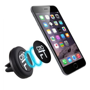 Croft™ Universal Air Vent Magnetic Car Mount Holder | for All Cell Phones and Mini Tablets