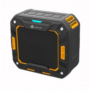 iClever IC-BTS03 Portable IP65 Waterproof Bluetooth Speaker with 12hr Playtime for Outdoor / Shower
