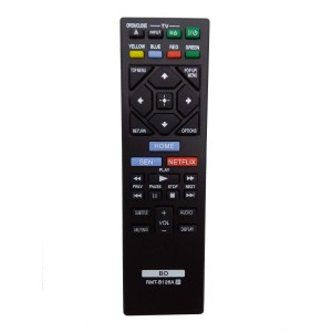 Vinabity Vinabty New Replaced Remote RMT-B126A for SONY Blu-Ray DVD Player BDPBX120 BDP-BX120 BDPS3200 BDP-