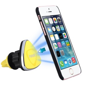 Noot Car Mount, Universal 360 Degree Magnetic Cradle-less Air Vent Smartphone Mount for iPhone, iPod To
