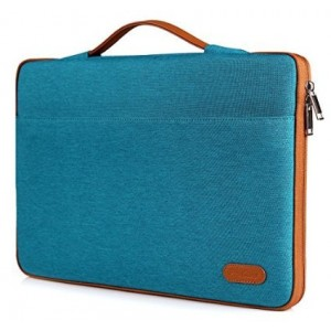 """ProCase 12 - 12.9 Inch Sleeve Cover Bag for Surface Pro 4 3, Macbook iPad Pro Tablet Ultrabook Carrying Case Handbag for 11"""" 12"""" Lenovo Dell Toshiba HP ASUS Acer Chromebook Laptop Computer -Teal"""