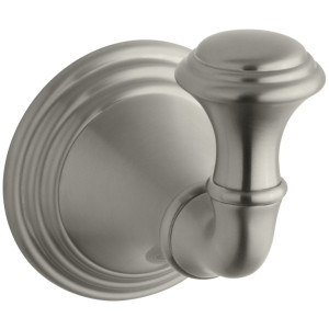 KOHLER K-10555-BN Devonshire Robe Hook, Vibrant Brushed Nickel