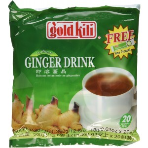 Ginger Drink -Gold Kili 40 Sachets Packed in 2 Bags