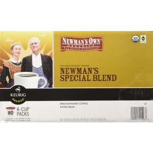 Newman's Own Newman's Special Blend, Keurig K-Cups, 80 count